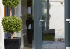 Aluclad Euro78 French door, open out