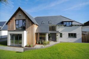 Aluclad timber casement windows and doors Hillside Oxford