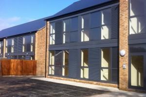 Aluclad timber windows Former Sherwood Hall, Lime Tree Road, Matlock, Derbyshire, DE4 3EJ