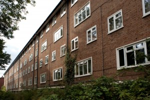 Casement windows, Broadfield Estate