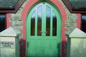 Chapel timber Entrance doors