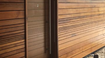 Contemporary design doors