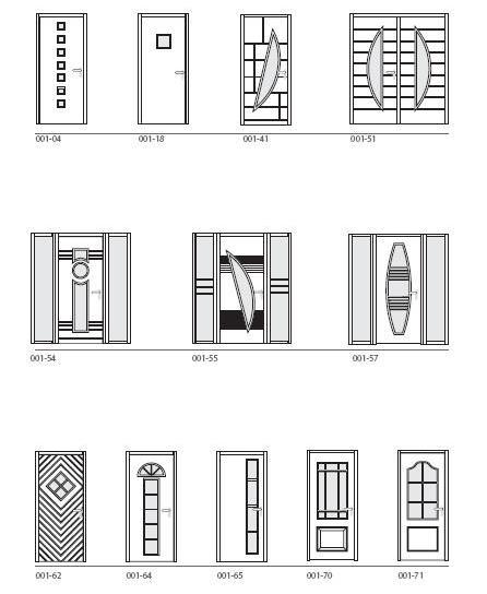 Contemporary door design options