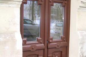 Custom made timber Entrance door