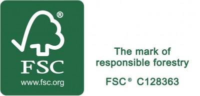 FSC logo ant sąskaitų_horizontalus