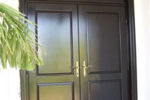 Timber Entrance doors