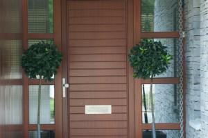 Timber entrance doors, groove dpanel, Co. Cork Ireland