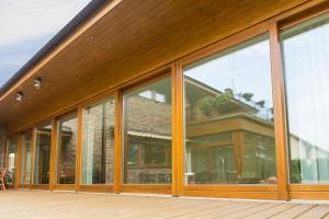 Timber lift & slide doors