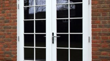 Traditional Casement French doors
