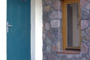 Wood entrance doors Flush Euro78