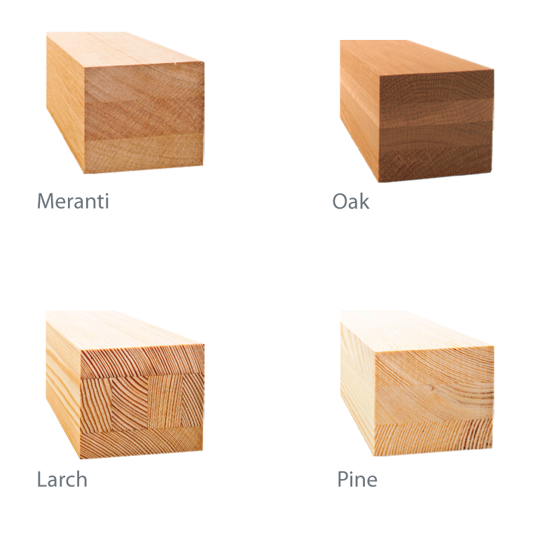 meranti-oak-larch-pine