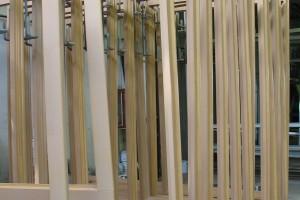 windows in drying chamber