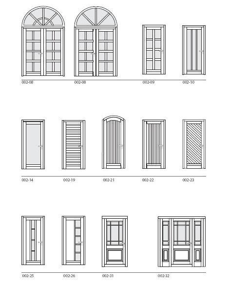 Classic door design options