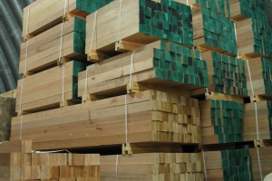FSC certified timber in our warehouse