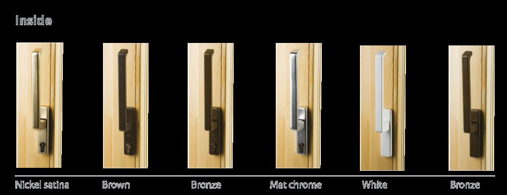 Lift and slide terrace door handles_inside