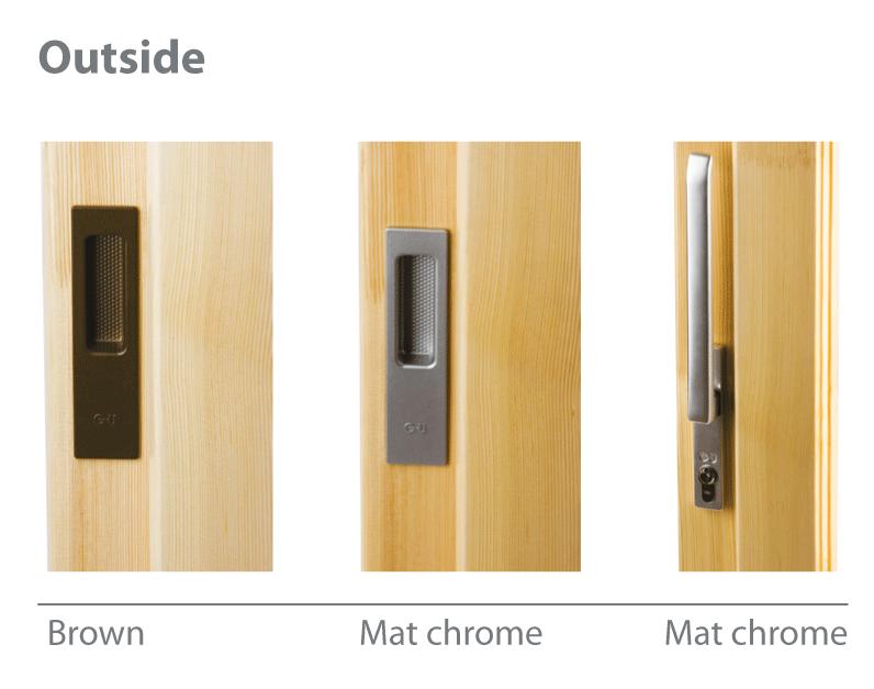 Lift and slide terrace door handles_outside