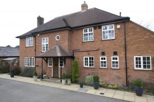 Oak casement windows, dual colour, Lutterworth, UK