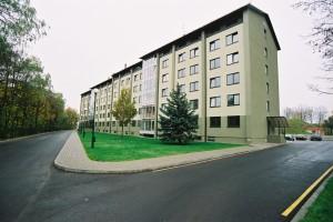 PVC windows, apartment building