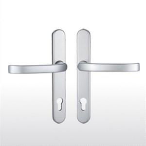 Satin chrome handles