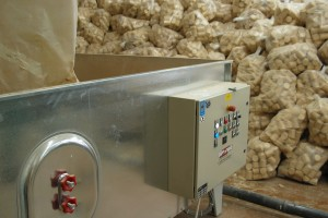 Sawdust is made into wood pellets