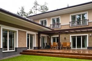 Timber windows and terrace doors