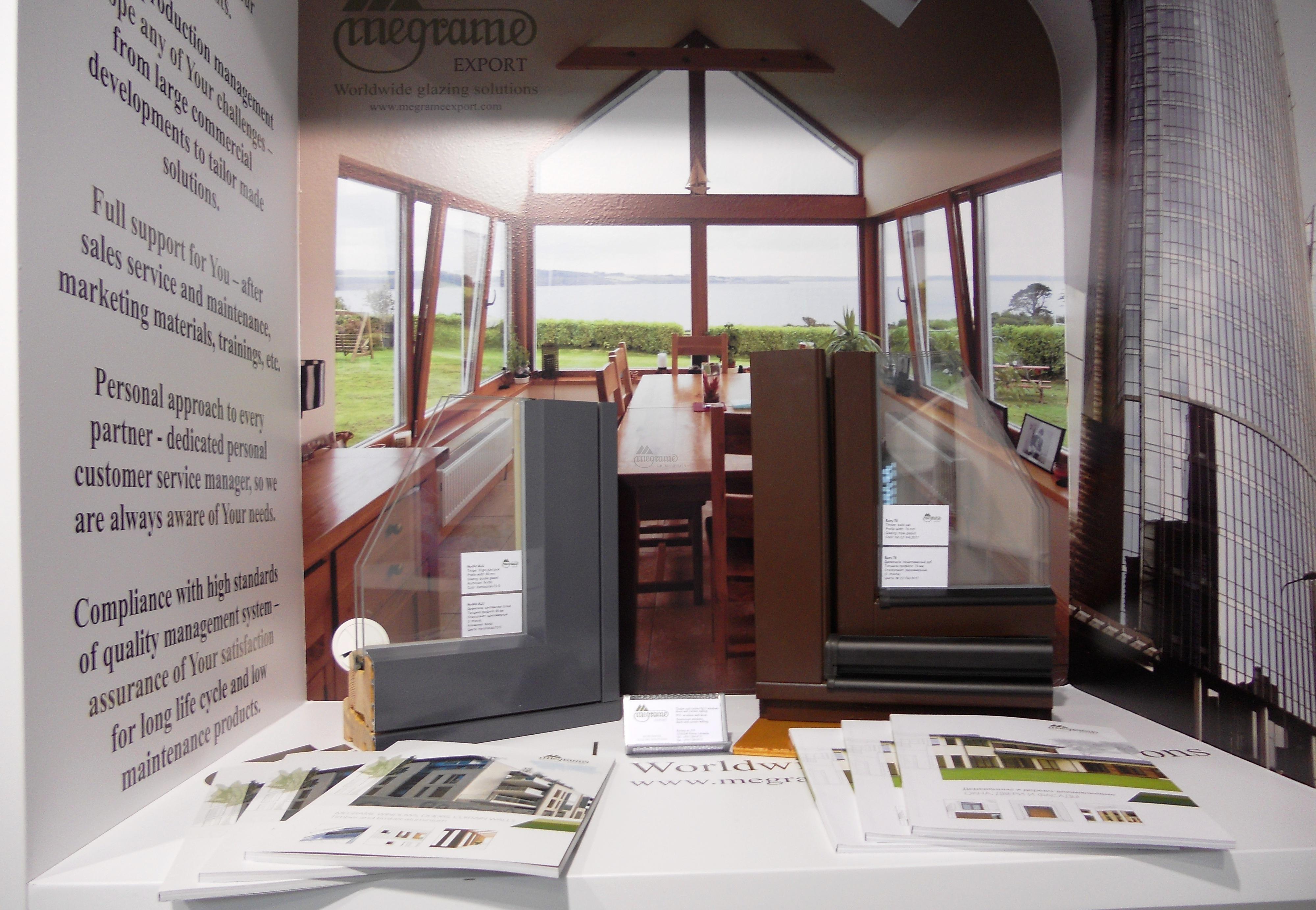 Megrame international exhibits