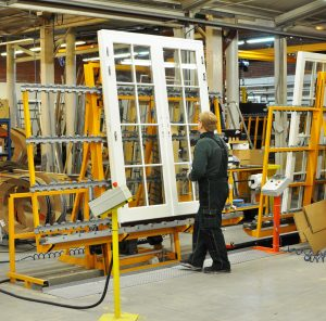 Timber window and door quality control
