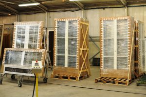 Timber window packaging